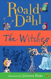 The Witches by Roald Dahl book cover
