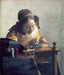 Vermeer painting of girl