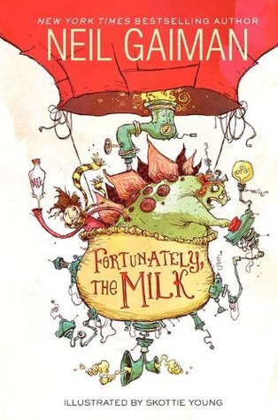 Frotunately the Milk book Cover