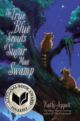 The True Blue Scouts of Sugar Man Swamp Book Cover