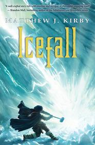 Ice Fall bookc cover